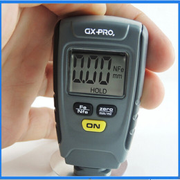 Wholesale GX CT01 Digital LCD Coating Thickness Gauge Tester Car Automotive Paint Thickness Meter mm Iron Aluminum Base