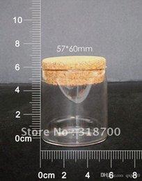 Livraison gratuite -100ml grand tube de verre avec du liège verre flacons verre jar grand souhaitant bouteille 0.6ml 1ml jusqu'à 1000ml est disponible à partir de grandes bouteilles liège fabricateur
