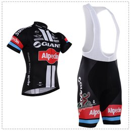 2016 GIANT Black Cycling Jersey Bicycle Breathable Racing Bicycle Clothing Quick-Dry Lycra GEL Pad Race MTB Bike Bib shorts