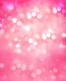 Fantasy Sparkle Pink Backdrop 5x7ft Digital Printing Studio Vinyl Photography Print Cloth Prop Photo Background