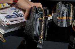 Wholesale Spy camera HD Men women leather handbag cameras Mini DVR men purse moniter listening device spy cam For secret investigation
