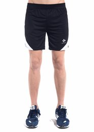 Wholesale Classic characteristic hot sale custom fit concise elastic black sport men shorts with pocket at the gym or home