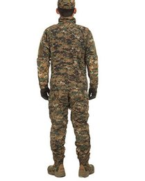 Wholesale Genuine urban camouflage training uniform digital camouflage CP suit pilots parachuted outdoor summer training suit