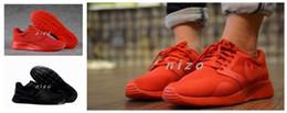 Lumières bottes en Ligne-Nouveau Arrivée KAISHI NS 3M Chevalier Noir Light Running Chaussures Bottes Pour Hommes Taille Sneaker Sport Respirant 39-44