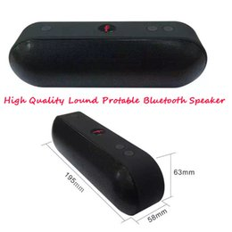 Wholesale Pill XL Bluetooth Mini Speaker Protable Wireless Stereo Music Sound Box Audio Super Bass U Disk TF Slot With Handle DHL FREE shopping