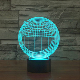 Wholesale Hot LED Table Lamp Avatar Wink Bedroom Night Light Acrylic Nightlight Dark World Home Decoration Light D TD142