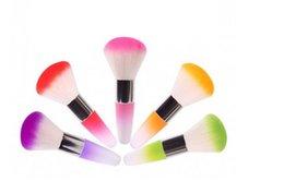 Wholesale Hot Sale New UV Nail Art Dust Remover Nail Brush Cleaner Acrylic UV Gel Rhinestones Makeup Brush Tool
