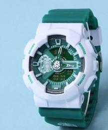 Wholesale 11colors Anime Series one piece Latest model watch ga110 watch classic sports wristwatch relogio reloj de pulsera LED WATCH