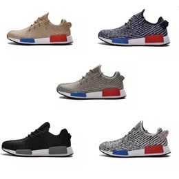 2016 Chaussures Hot cours NMD Hommes Run Sneakers Lumière bon marché Top Quality Training Chaussures Run Chaussures Homme Sport Bottes Souliers Tidal Chaussures à partir de lumières bottes fabricateur