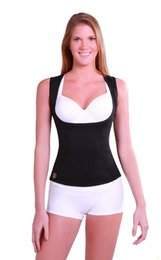 Wholesale NEW Hot Cami Shapers Shirt Stretch Neoprene Body Shaper