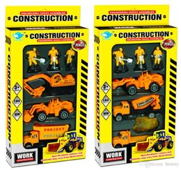 2014 alloy composition model truck 1:64. Alloy sliding car, Small children role-playing toys