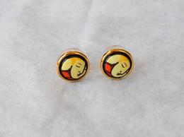 Dreams and Roses Series 18K gold-plated enamel earrings for women Top quality stud earrings