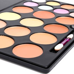 20Colors Makeup Concealer Face Cream Concealer Foundation Palette Makeup Concealer with makeup brush NO LOGO 80pcs