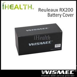 Wholesale Wismec Replaceable Front and Back Cover for Reuleaux RX200 Reuleaux RX200S Mod Original Color Options