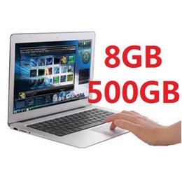 2016 New cheap Laptops 8GB 500gb USB 3.0 Intel 2.41 Ghz WIFI HDMI webcam Super thin style!Play all games ALINUOLA High Quality laptops