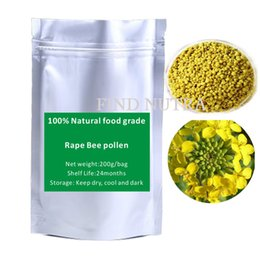 Wholesale Natural food grade pure Rape Bee pollen g bag