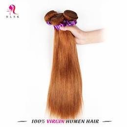 Brazilian Hair Light Brown Hair Weft Rmey Wholesale Straight Hair Products 4# Peruvian Braiding Hair 100% Unpeocessed Hair