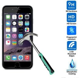2.5D 0.26mm Tempered Glass Screen Protector Film For IPhone 6s 6 Plus 5 SE 5s 4 4s