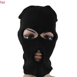Wholesale Outdoor Protection Full Face Lycra Balaclava Headwear Ski Neck Cycling Motorcycle Mask Sports Warm Windproof Mask Scarf Hat