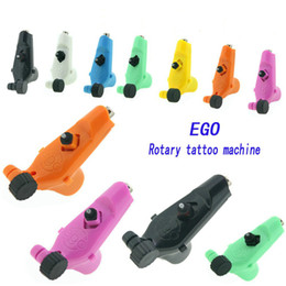 Ego Rotary Tattoo Machine Gun 7 Colors Available Light Weight Supply For Tattoos Machine Kits New Legend Free Shipping
