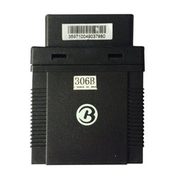 Wholesale GPS GSM GPRS Tracking OBD Vehicle Tracker GPS306B goole SMS Real time tracking G attendance management TK306B no retail box