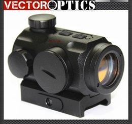 Wholesale Vector Optics Hunting x mm IR amp Red Dot Sight Scope with mm QD Weaver Mount Base fit AK47 AK74 rifles