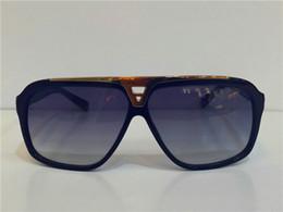Wholesale luxury millionaire evidence sunglasses retro vintage men brand designer sunglasses shiny gold summer style laser logo gold plated