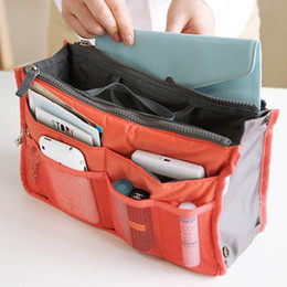 Wholesale Makeup Cosmetic Make Up Organizer Bag Box Case Toiletry Travel Kits Vanity Bags Underwear Pouch Tidy Hygienic Pockets Store Simple SPO2016