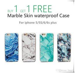 Wholesale Marble Skin iphone Case High Quality Cover waterproof Case Wear resistant Protector iphone case For iphone S iphone iphone s plus