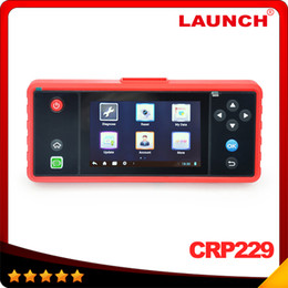 Wholesale 2016 New arrival Launch Creader CRP229 Touch quot Android System OBD2 Full Diagnostic Scanner Update Onlie Wifi Supported