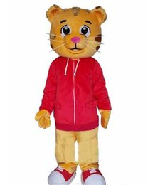 Wholesale Factory direct sale Sell Like Hot Cakes Daniel Tiger Mascot Costume Daniel Tiger Fur Mascot Costumes