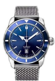 Luxury Men Watch Automatic Movement Mechanical Men's watches Stainless Steel Blue Dial Superocean Man wristwatch
