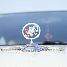 Wholesale Hot sale new arrival promotion case for Buick alloy Badge Car Logo mark Front Hood Bonnet Emblem ornaments car cover accessories
