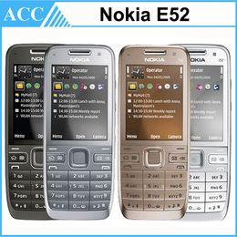 Wholesale Refurbished Original NOKIA E52 WIFI GPS G Bar Unlocked Mobile Phone Renew Cellphone Multi Language Sample Order Link