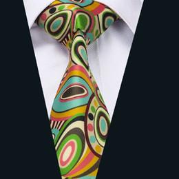 Men's Flower Tie New Arrivl Silk Blue Yellow Green Necktie Classic Wide Formal Business Stylish Necktie D-1242