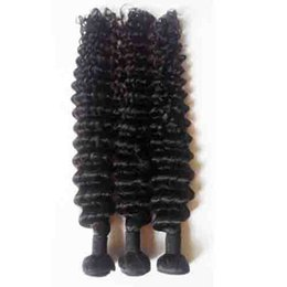 Wholesale 3 Bundles Cheap Unprocessed Brazilian Peruvian Malaysian human Hair Wef Sexy Formula Hair Factory price Best Deep Curly human Hair Weave