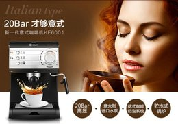 Wholesale China Donlim DL KF6001 espresso machine semi automatic high pressure pump cafe maker bar v