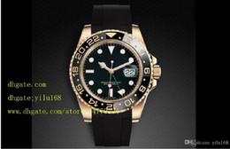 Wholesale Mens Luxury Supplier Top Quality Mens II Black Ceramic Bezel LN Automatic Folding clasp Men s Watches