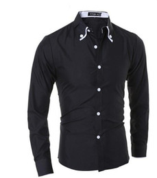 New Brand Male Shirts Casual Turn-down Collar Long Sleeve Shirt Men Casual Slim Fit Design Fancy Shirts Men