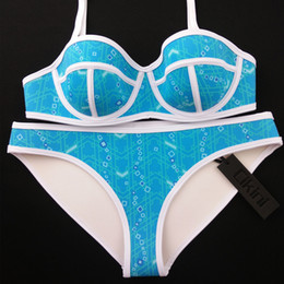 Wholesale Best Womens Bikinis Swimwears Low Waist Sexy Bikinis Bathing Suits for Women Neoprene Swim Suits Bikinis Sets TA012