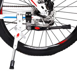 Wholesale Mountain Bike Foot Stand The Road Bicycle Foot Support Mount Rear Parking Rack Hard Aluminium Side Support Color For U