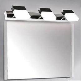 modernos dormitorios luces ligeras de acero inoxidable de la lmpara de pared w tocador espejo led para lmparas de pared del cuarto de bao