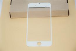 50PCS Front Outer Glass Lens with OCA Film Pre-assemblyed for iPhone 4 4S Glass OCA Film for iPhone 5 5S 5C Refurbishment parts