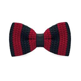 Men's Tuxedo Adjustable Stripe Bow Tie Party Business Casual cotton Bow Tie Gift Box Men's Fashion Accessories F-333