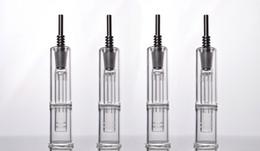 2016 bong d'huile miel En stock Nectar Collector avec Titanium Nail 14mm Rig joint d'huile Mini Pipe en verre de miel Paille Concentré Miel Dab Paille Mini Bong en verre budget bong d'huile miel