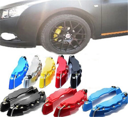 Wholesale 2 X Universal Car Auto D Style Disc Caliper Covers Decoration Front And Rear RD ABS for inch Wheels Size C26