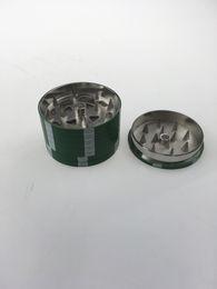 Metal Tobacco Grinder 3 Layers 42mm Diameter Spice Pollen Mini Hand Grinder Herb Grinder Good Quality free shipping