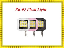 Wholesale iCanany RK Selfie Using synchronous flash Mobile Phone Flash LED Light Support Camera selfie falsh light VS Supreme mini III RK