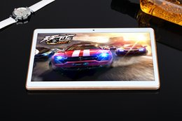 Wholesale 2PCS Quad Core HD Tablet Bulit in Speaker and Microphone inches with GB Storage GB RAM DHL Free
