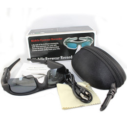 720P HD SunnyCam Video Recorder Camcorder Sunglasses Camera Cam Spy Hidden Glasses Without Micro Sd Card